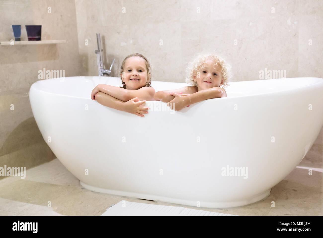 Boy Standing In Bath Tub Stock Photos Amp Boy Standing In