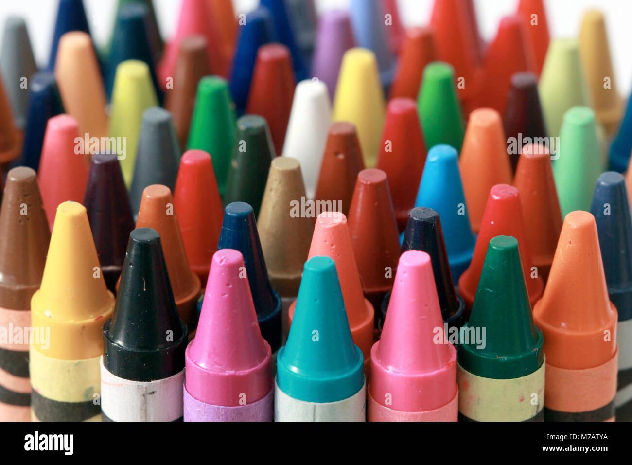 Kindergarten Crayons Stock Photos Amp Kindergarten Crayons