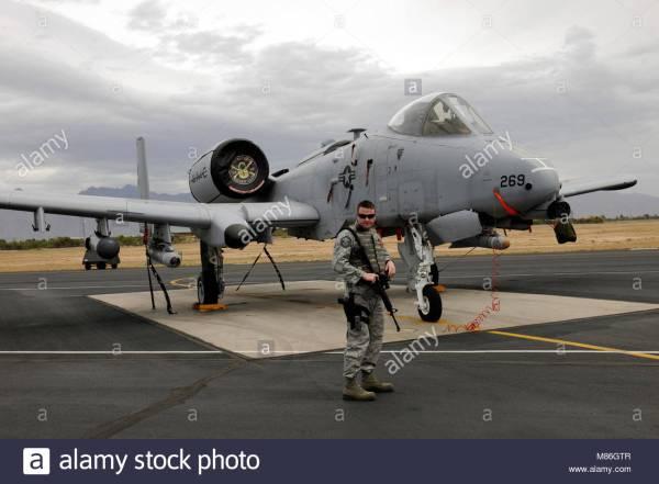 Fairchild Republic A 10a Thunderbolt Ii Stock Photos ...