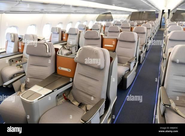 Displays Seats Lufthansa Airbus A380 800 Emergency Exit Sleep