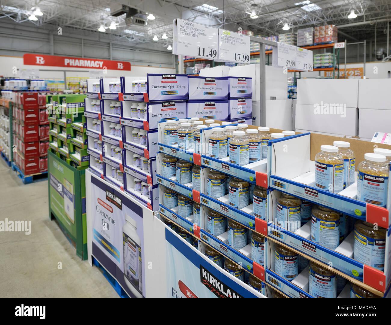 Vitamins and Kirkland brand food supplements at Costco ... on Kirkland Costco Pharmacy id=14788