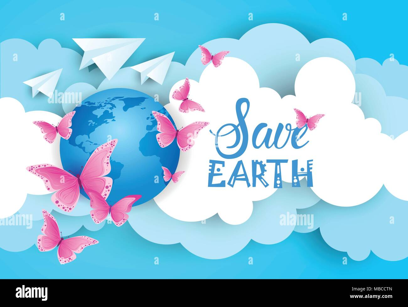 Save Earth Poster High Resolution Stock Photography And Images Alamy