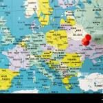 Political Map Of Europe City Of Kiev Capital Of Ukraine Pinned Kiev Will Held The Final Match Of The Football Champions League On May 26 2018 Stock Photo Alamy