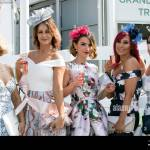 Aintree Liverpool Merseyside 14th April 2018 The Most Famous Event In The Horse Racing Calendar Welcomes