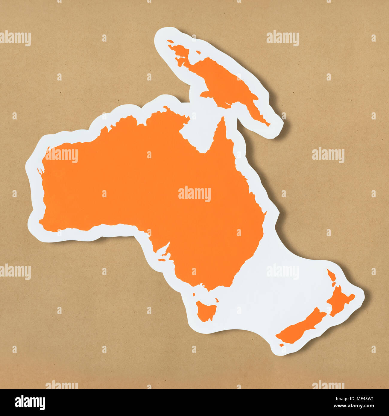Australasia Map Stock Photos Amp Australasia Map Stock