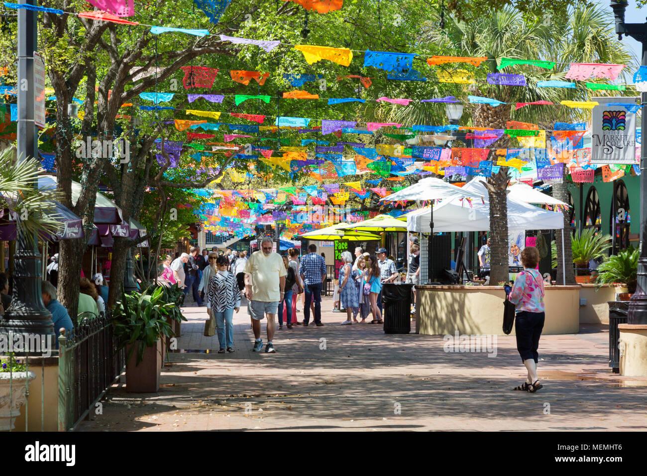 Market Historic Square Map San Antonio