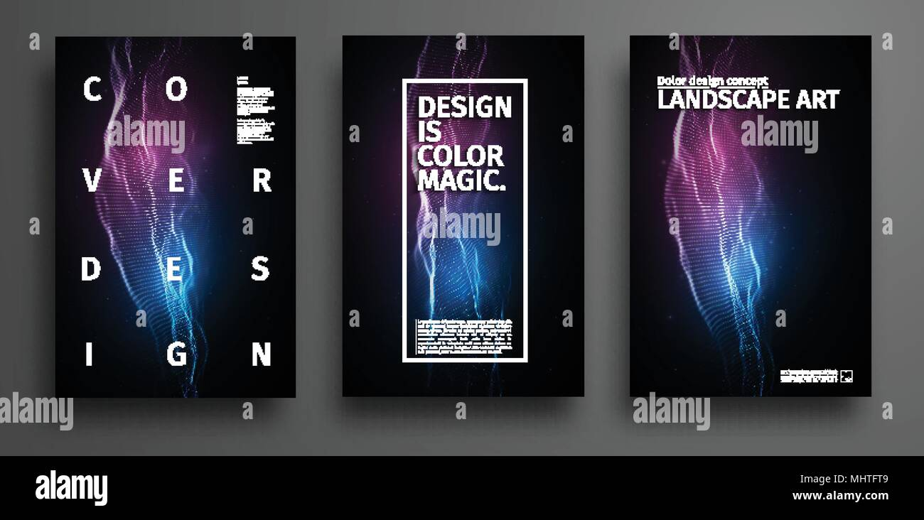 https www alamy com party poster template music event poster design technology background abstract audio waves design image183092121 html