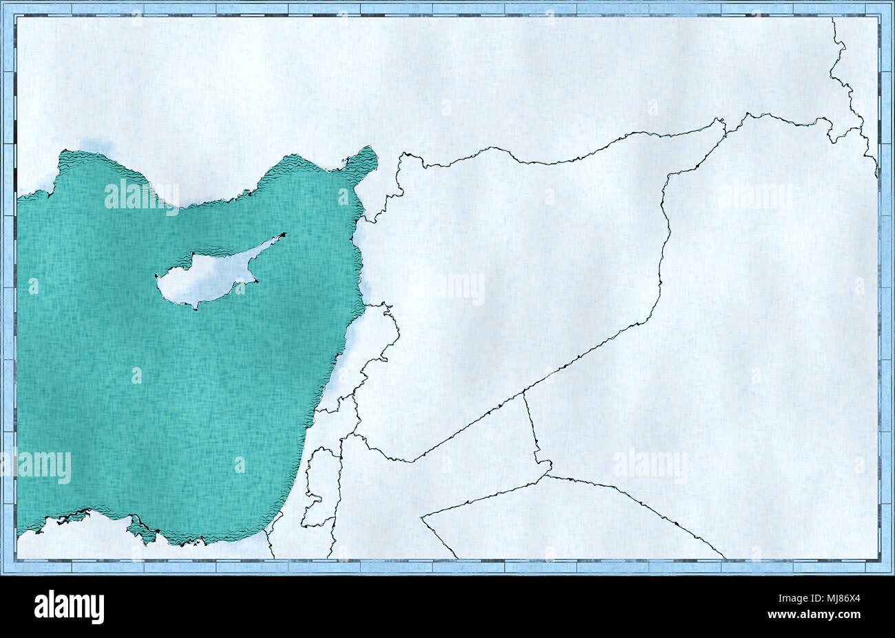 Arabian Peninsula Map Stock Photos Amp Arabian Peninsula Map