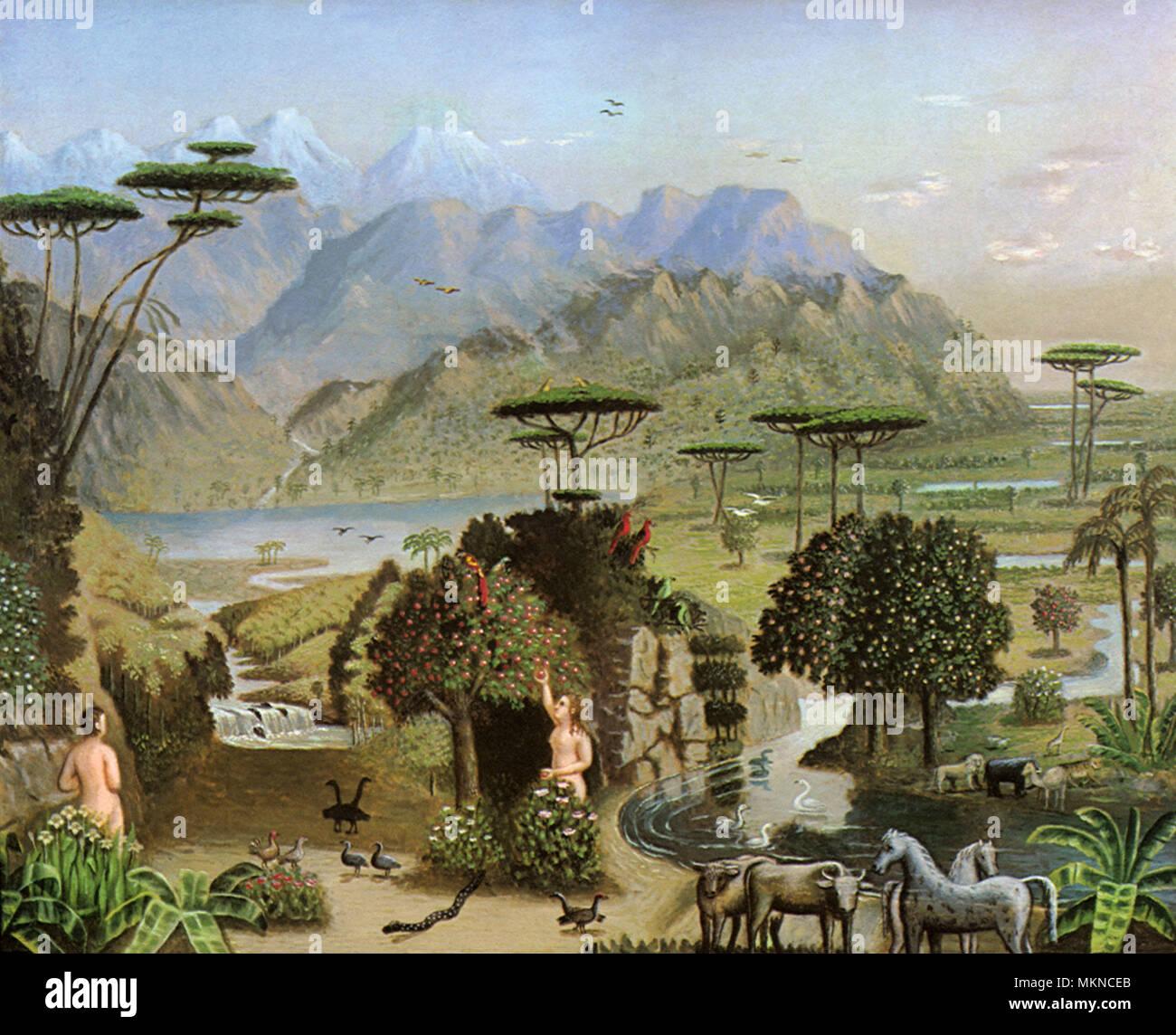 Biblical Garden Of Eden Stock Photos Amp Biblical Garden Of