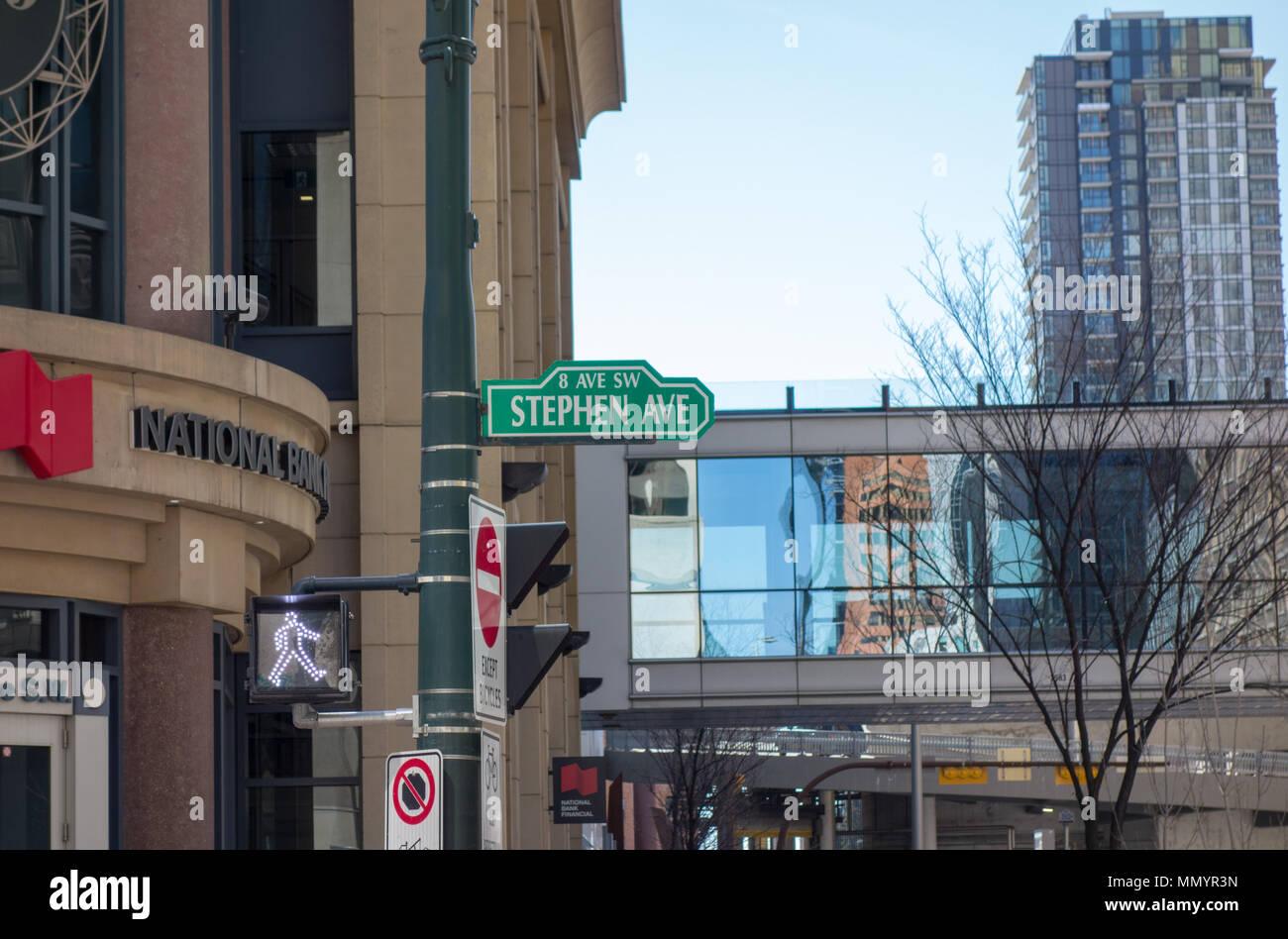 Restaurants Downtown Calgary 8th Avenue