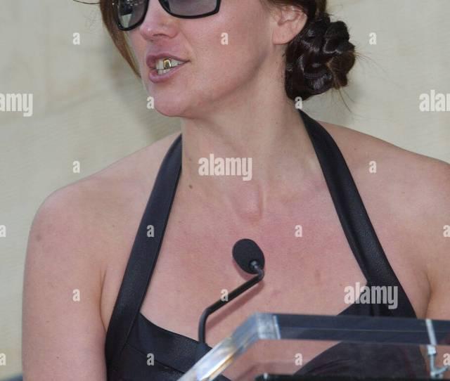 Evi Quaid Randys Wife At The Randy Quaid Th A Star On The Hollywood