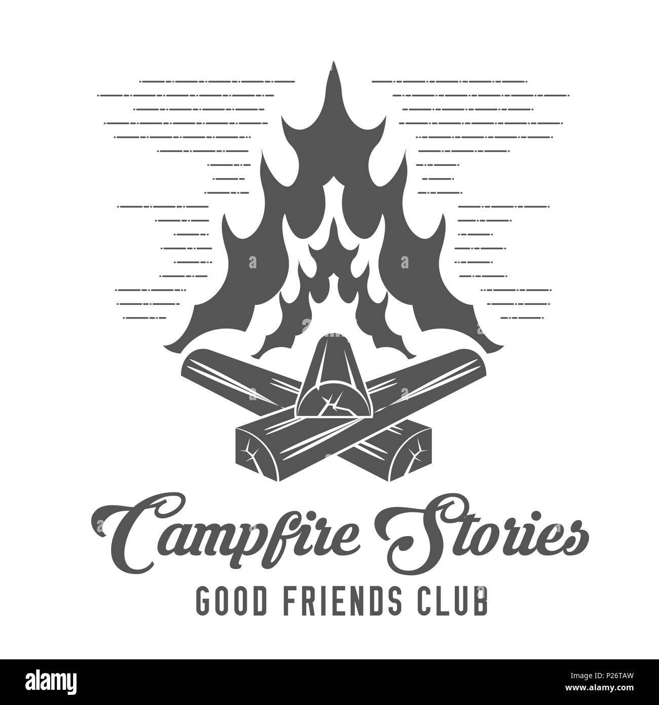Campfire Cut Out Stock Images Amp Pictures