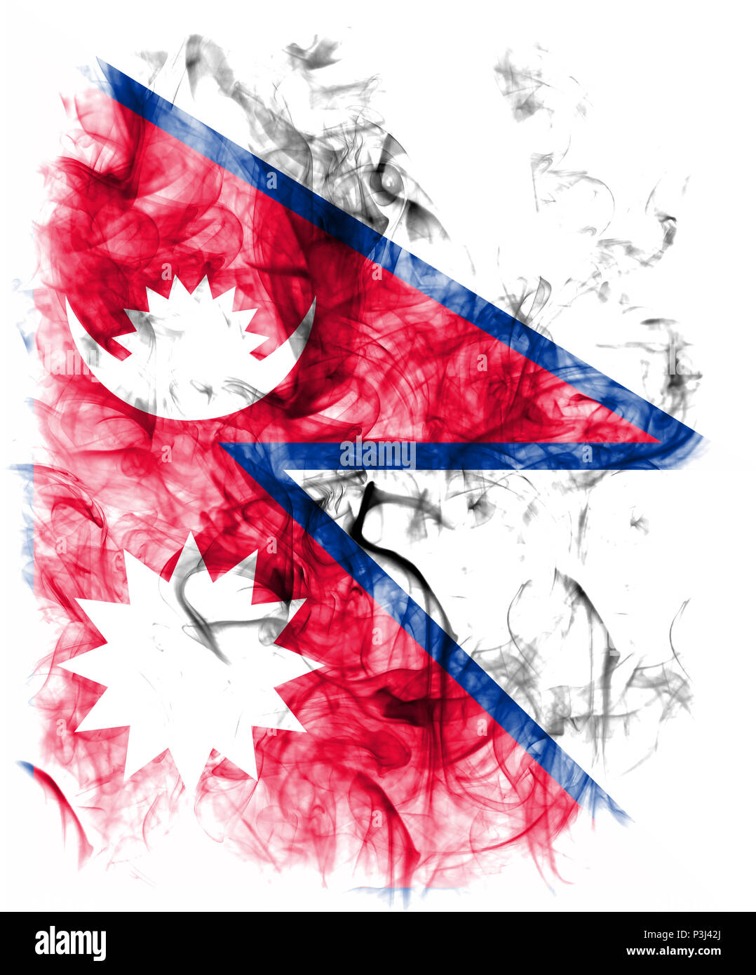 Nepal Flag High Resolution Stock Photography And Images Alamy