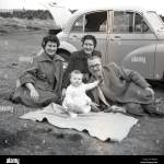 1950s Family Car High Resolution Stock Photography And Images Alamy