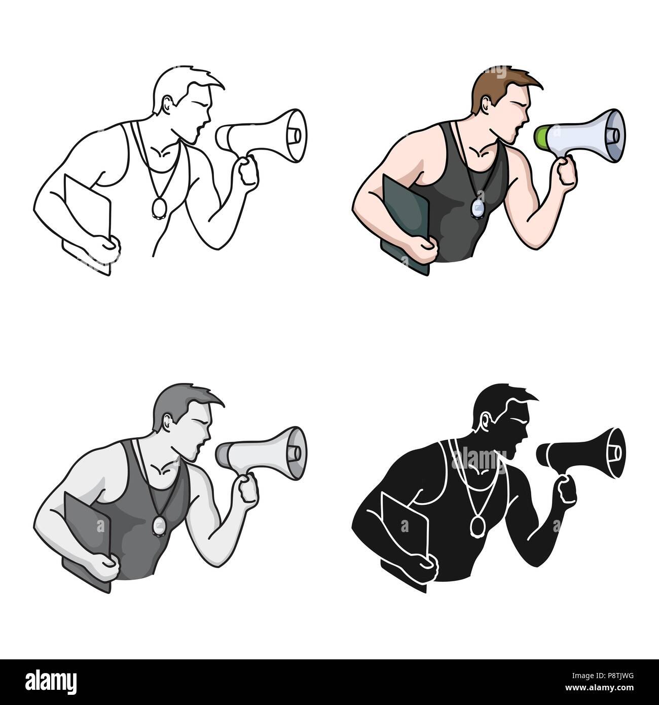 Gym Teacher Stock Vector Images