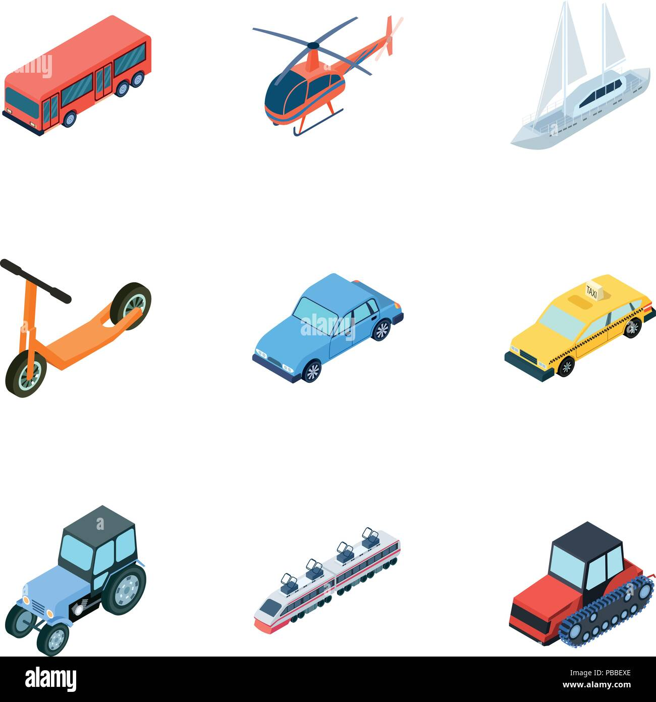 Land Water Air Transport Machines That People Use