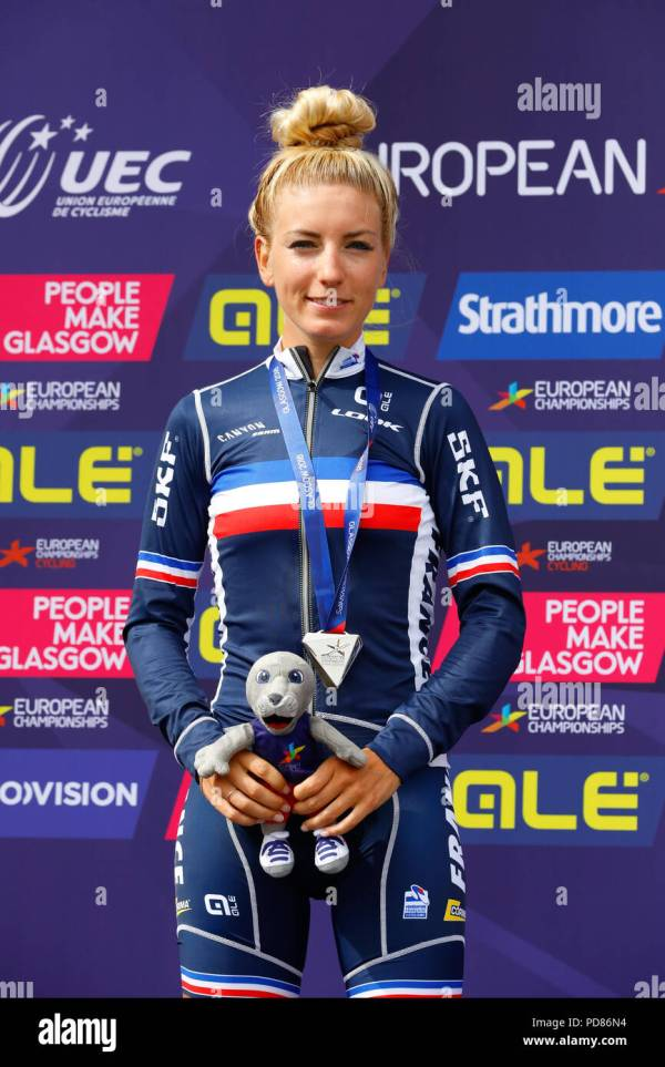Glasgow, UK. 7th August 2018. Second place in the Women's ...