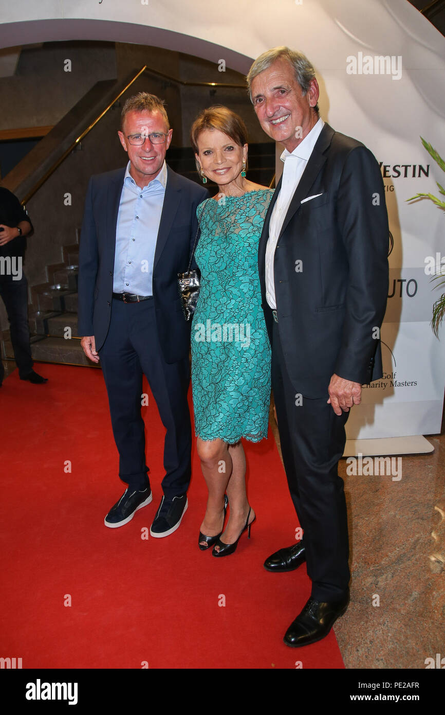 https www alamy com machern germany 11th aug 2018 ralf rangnick l r uschi glas and husband dieter hermann are guests at the 11th grk golf charity masters gala in the westin hotel leipzig credit carl seideldpa zentralbildzbdpaalamy live news image215181787 html