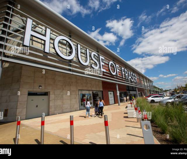 Stock Picture Dated August 21st 2018 Shows The House Of Fraser Department Store In Rushdennorthants The Company Was Recently Taken Over By Mike Ashley