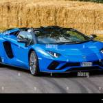 2018 Lamborghini Aventador S Roadster On It S Demonstration Hillclimb Run At The 2018 Goodwood Festival Of Speed Sussex Uk Stock Photo Alamy