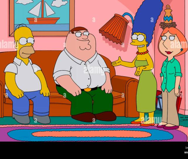 Homer Simpson Peter Griffin Marge Simpson Lois Griffin Family Guy Season
