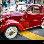 1938 9 Vintage Fiat 500 Topolino Car On Display In Opatija Croatia Stock Photo Alamy