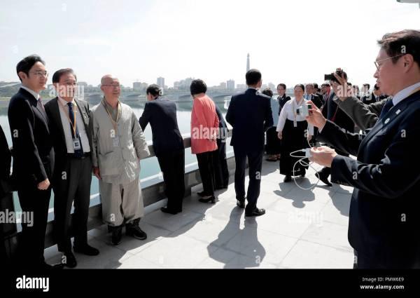 Inter-Korean Summit, Sep 19, 2018 : Chairman of SK ...