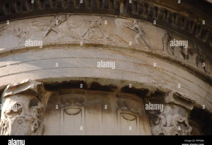 Arte Griego S Iv Monumento A Lisicrates 334 A C Levantado En