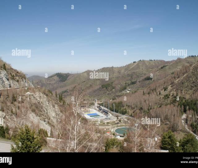 Medeo Mountain Almaty Spring In Kazakhstan Beatigul View