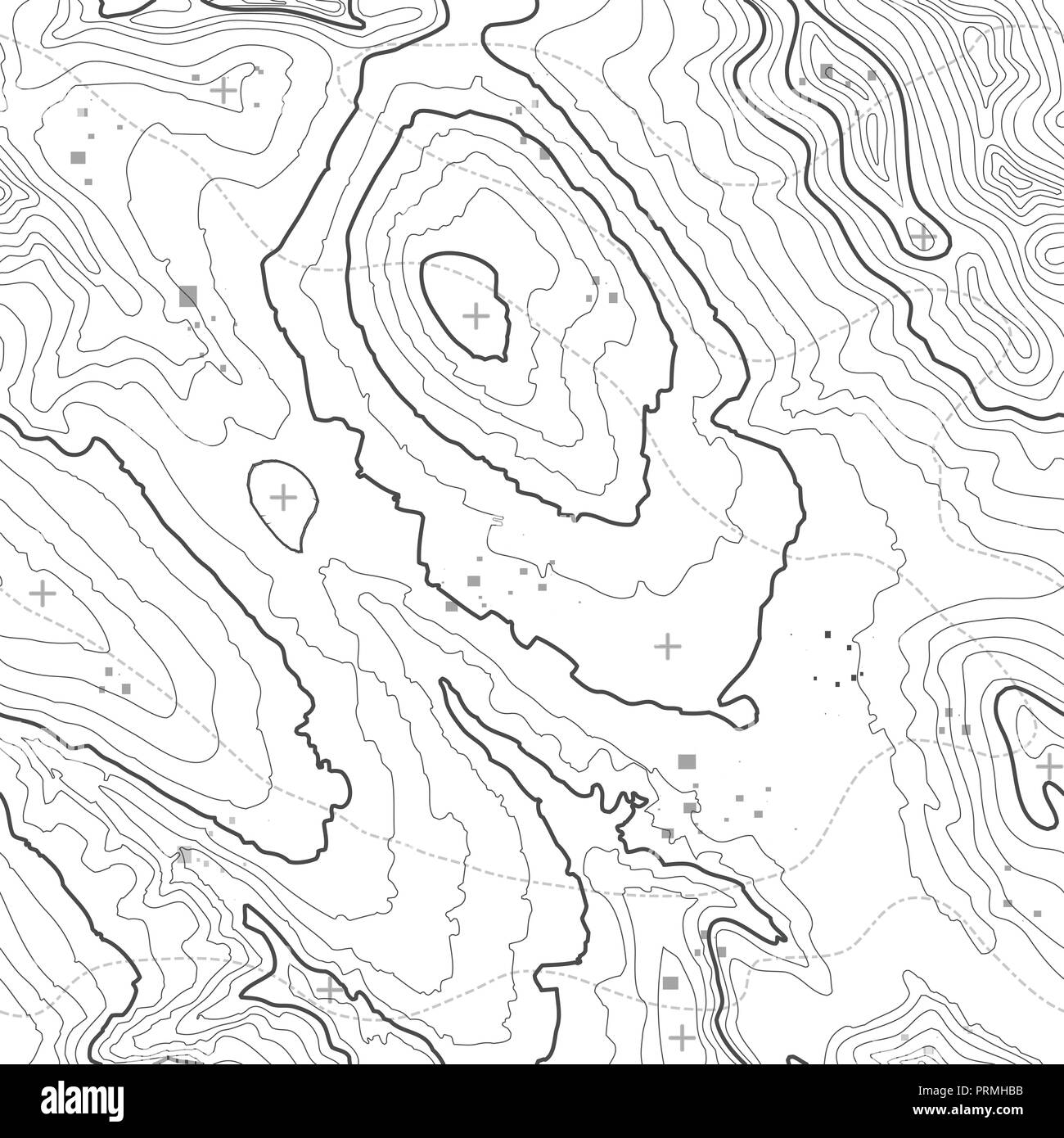 29 Contour Lines Topographic Map