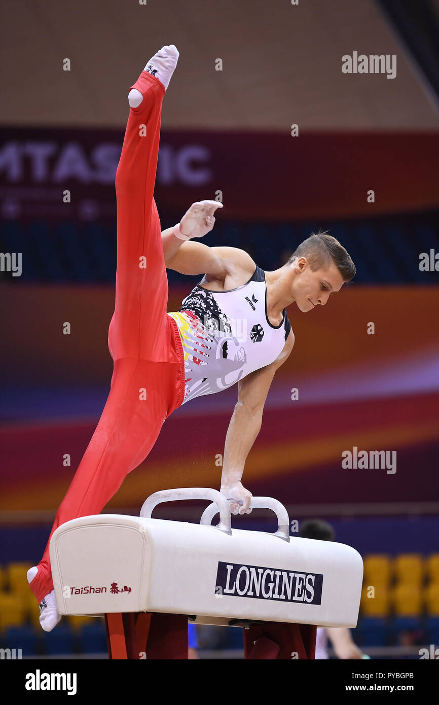 Lukas dauser is a german male artistic gymnast and a member of the national team. Lukas Dauser Germany Unterhaching On Pommel Horse Ges Gymnastics Gymnastics World Championships In Doha Qualification 26 10 2018 Ges Artistic Gymnastics Gymnastics World Championships Doha Qatar 26 10 2018 Usage Worldwide Stock