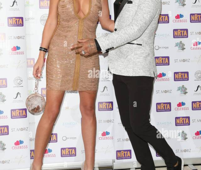 National Reality Tv Awards  Held At Porchester Hall Arrivals Featuring Jermaine Pennant Alice Goodwin Where London United Kingdom When  Sep