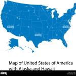 Hawaii Map High Resolution Stock Photography And Images Alamy
