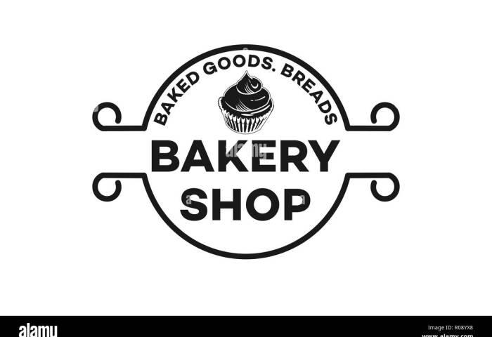 Vintage Emblem Cupcake Bread Bakery Logo Designs Inspiration