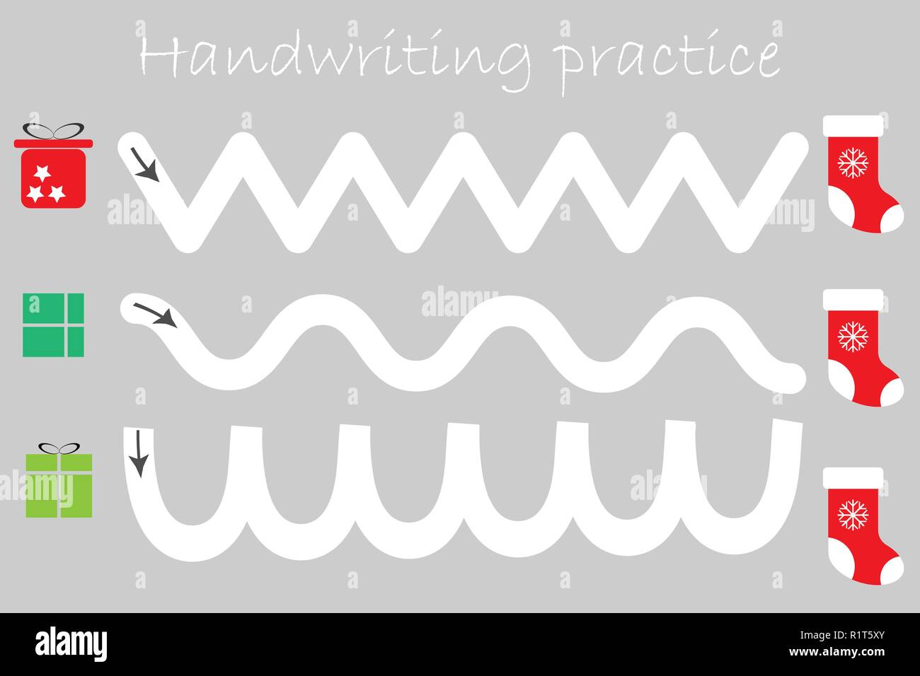 Handwriting Practice High Resolution Stock Photography And