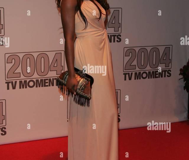 Ebony Thomas Tv Moments 2004 Bbc Television Centre London England