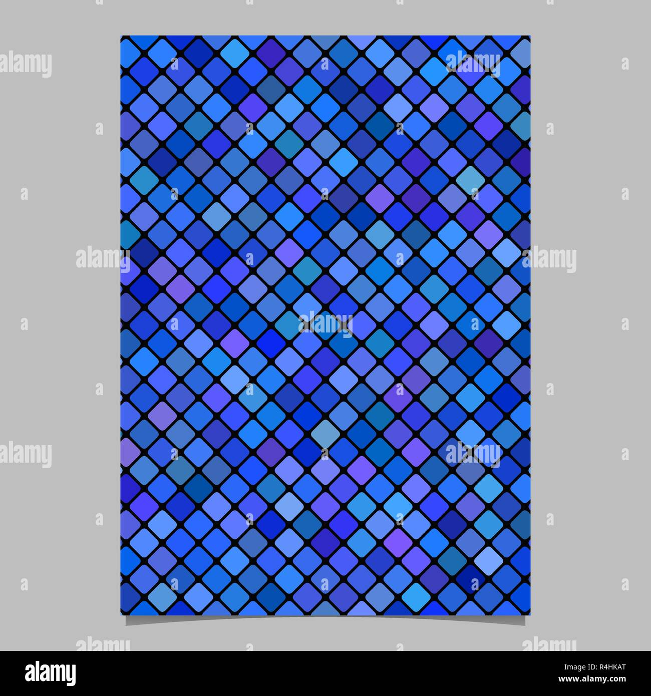 https www alamy com square pattern flyer design vector tile mosaic page background image226581792 html
