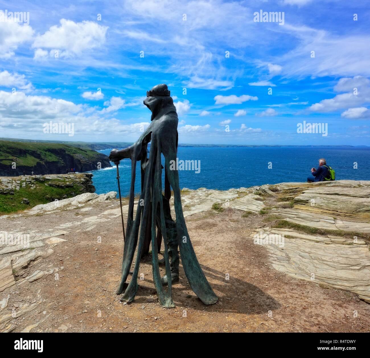 King Arthur Sculpture Stock Photos Amp King Arthur Sculpture