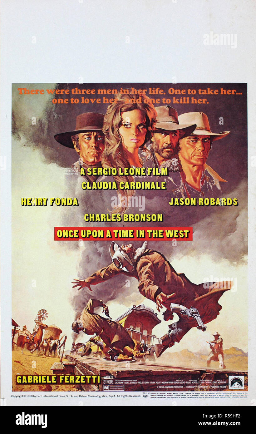 https www alamy com once upon a time in the west original movie poster image227019382 html