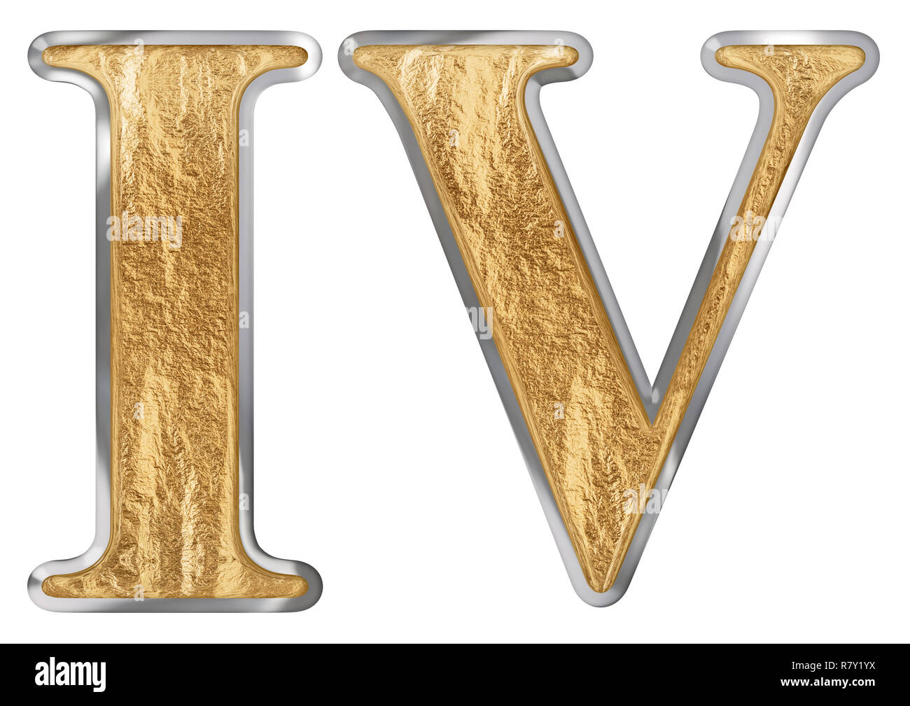 How To Write Four In Roman Numerals
