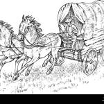 Horse Drawn Cart Drawing High Resolution Stock Photography And Images Alamy