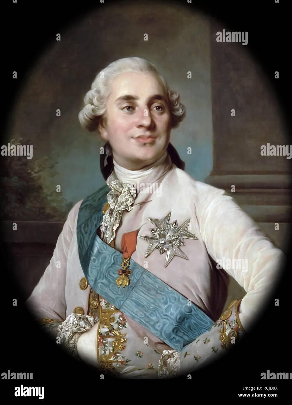 https www alamy com portrait of the king louis xvi 1754 1793 museum muse de lhistoire de france chteau de versailles author duplessis joseph siffred image231516234 html