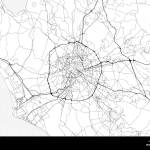 Area Map Of Rome Italy This Artmap Of Rome Contains Geography Lines For Land Mass Water Major And Minor Roads Stock Vector Image Art Alamy