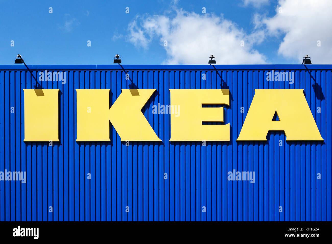 Ikea Logo Stock Photos Ikea Logo Stock Images Alamy