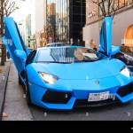 Blue Lamborghini High Resolution Stock Photography And Images Alamy