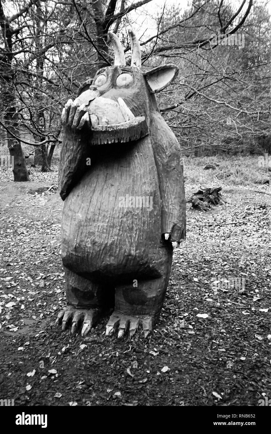 High lodge, thetford forest, suffolk. Gruffalo Trail Alice Holt Forest Farnham Surrey England United Kingdom Stock Photo Alamy