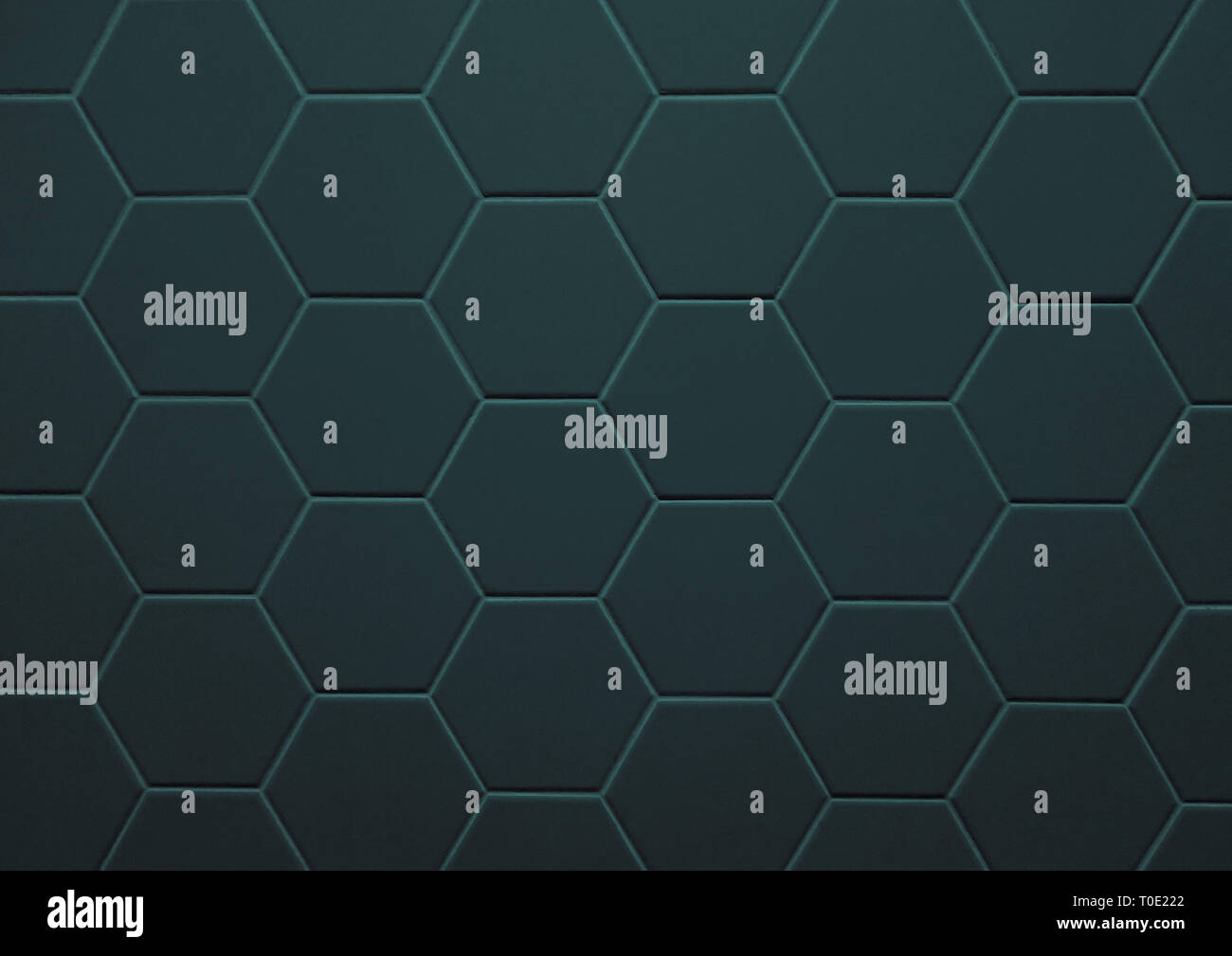 https www alamy com abstract texture of tile hexagon pattern background dark green color image241254106 html