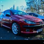 Peugeot 206 Tuning Front Part Stock Photo Alamy