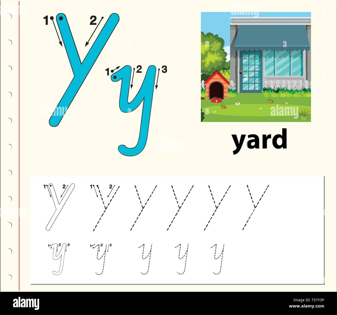 School Yard Stock Vector Images
