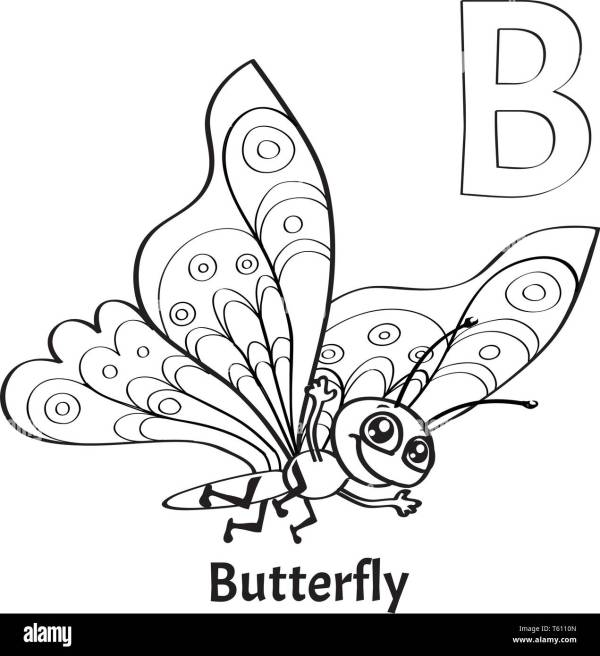 letter b coloring page # 18